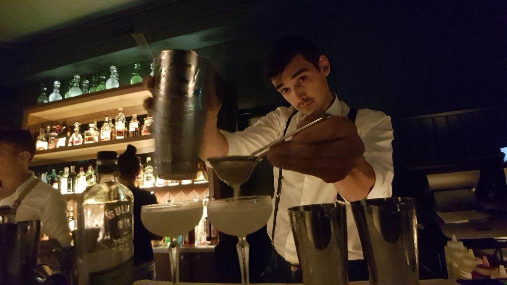 Andrei Talapanscu at Pulitzer Bar